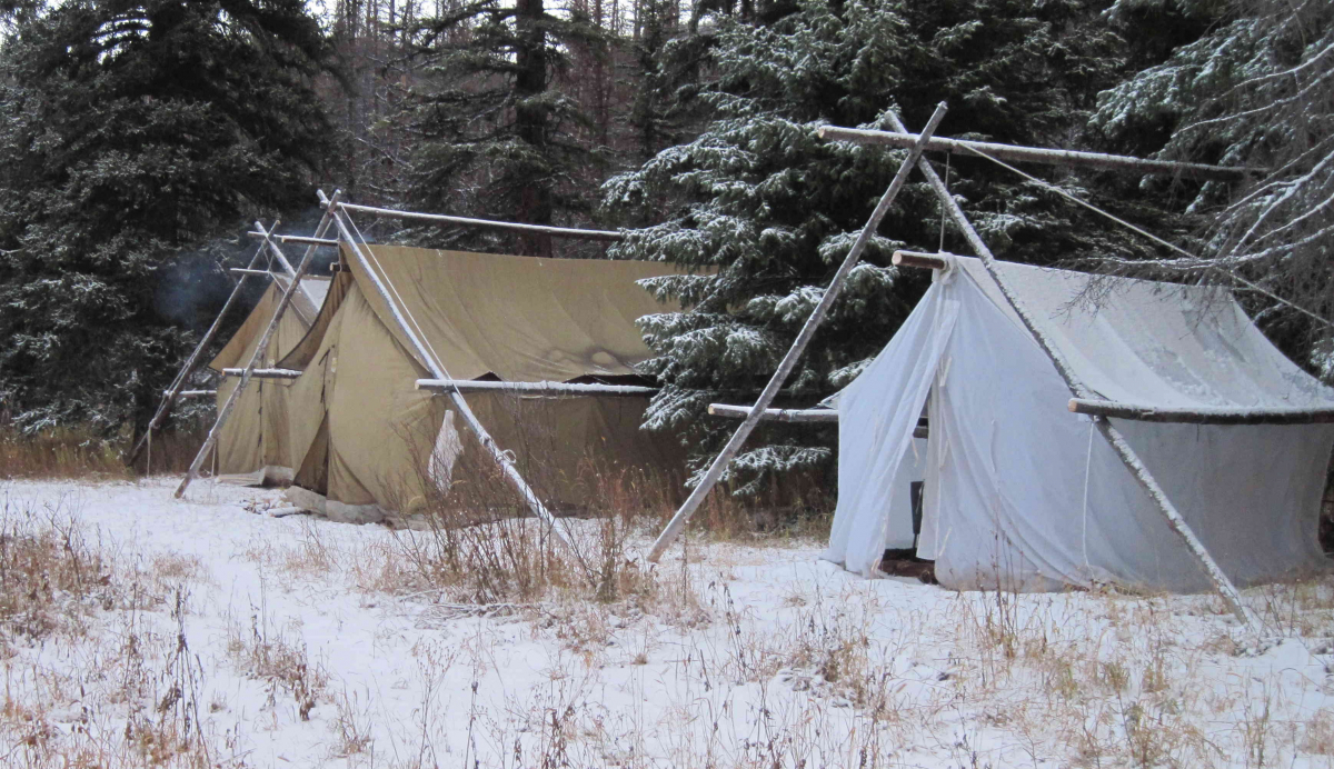 Two Medicine Elk Camp