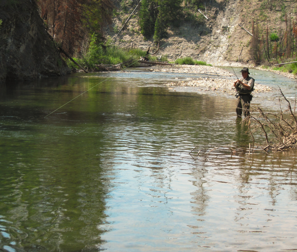 Fly Fishing Solo